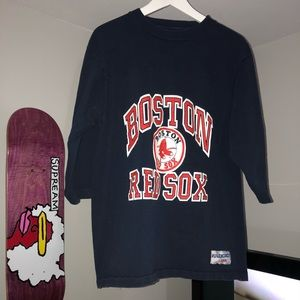 Vintage Logo 7  Boston Red Sox T-Shirt